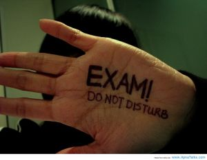 Exam! - Do not DISTURB!